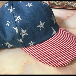 Chambray Stars and Stripes USA 🇺🇸 Hat